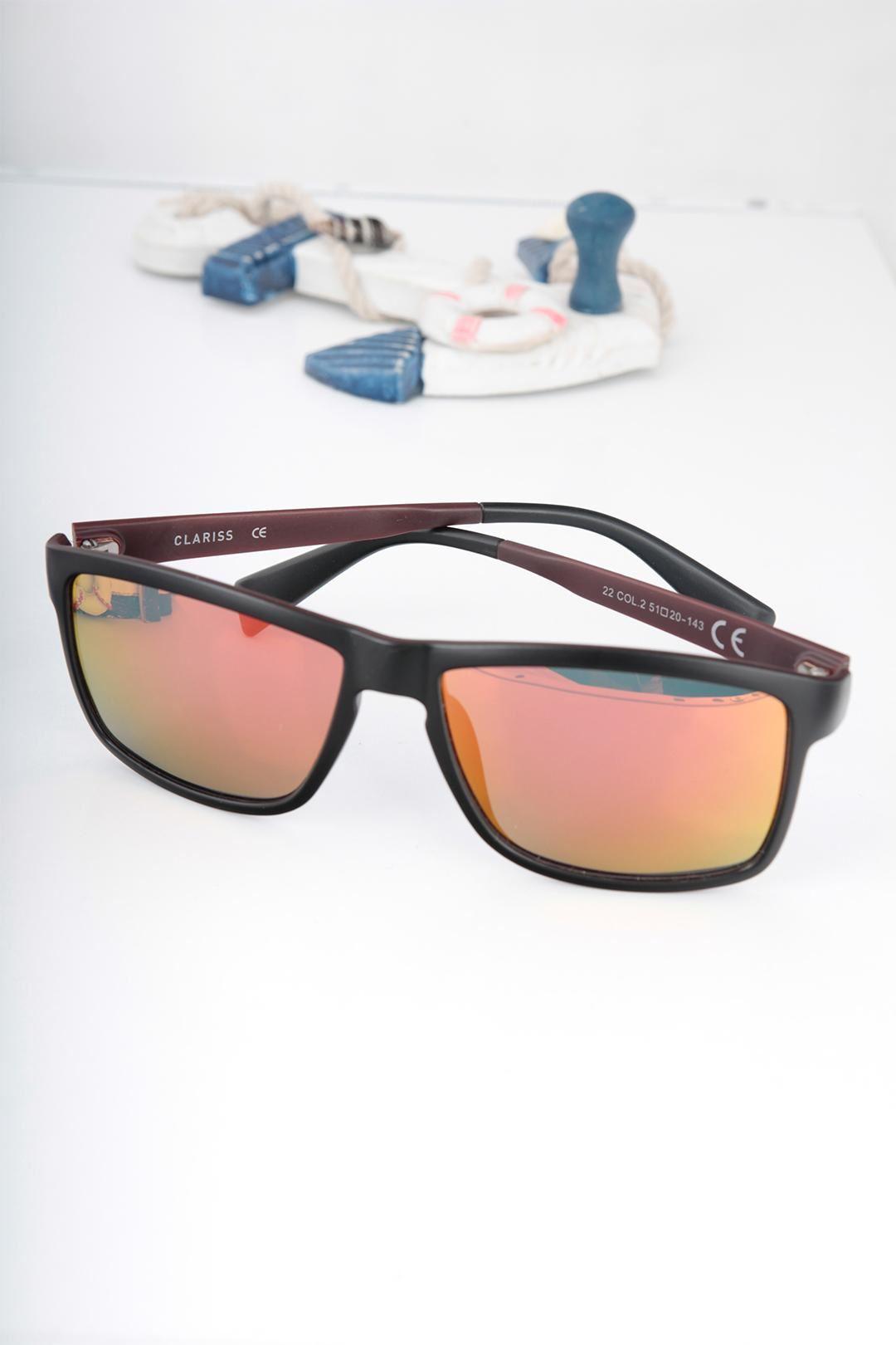 Clariss Marka Siyah Renk Çerçeveli Güneş Gözlüğü