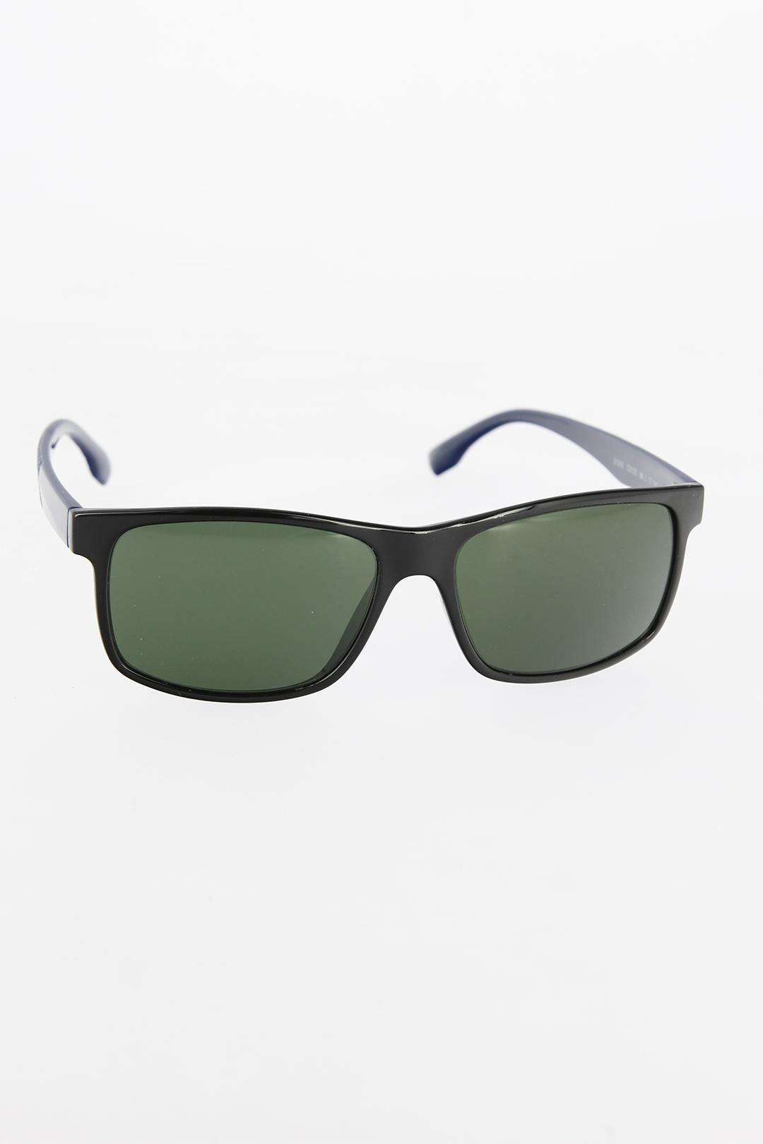 Siyah Renk Çerçeveli Lacivert Saplı Erkek Güneş Gözlüğü