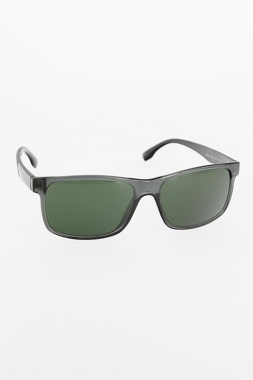 Gri Renk Çerçeveli Siyah Saplı Erkek Güneş Gözlüğü