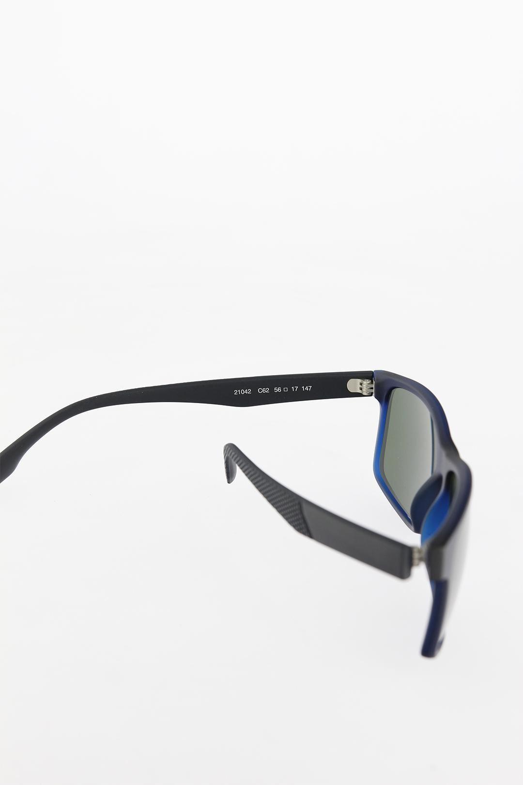 Lacivert Renk Çerçeveli Siyah Saplı Erkek Güneş Gözlüğü