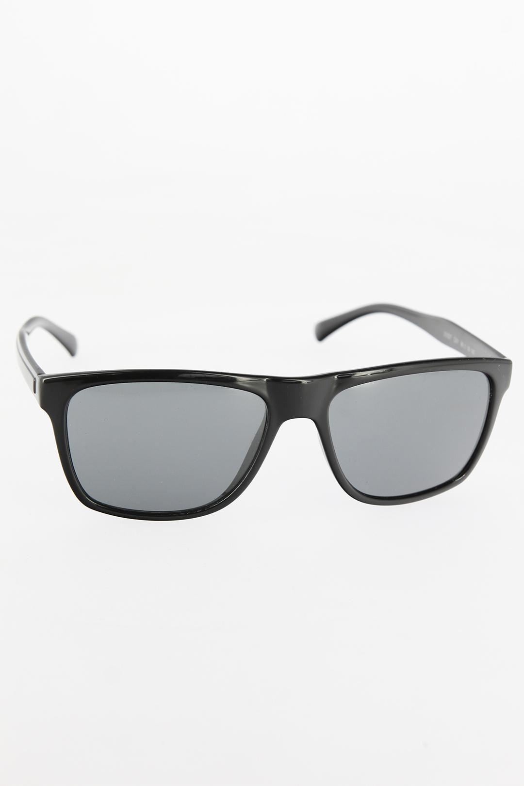 Siyah Dikdörtgen Çerçeveli Erkek Güneş Gözlüğü