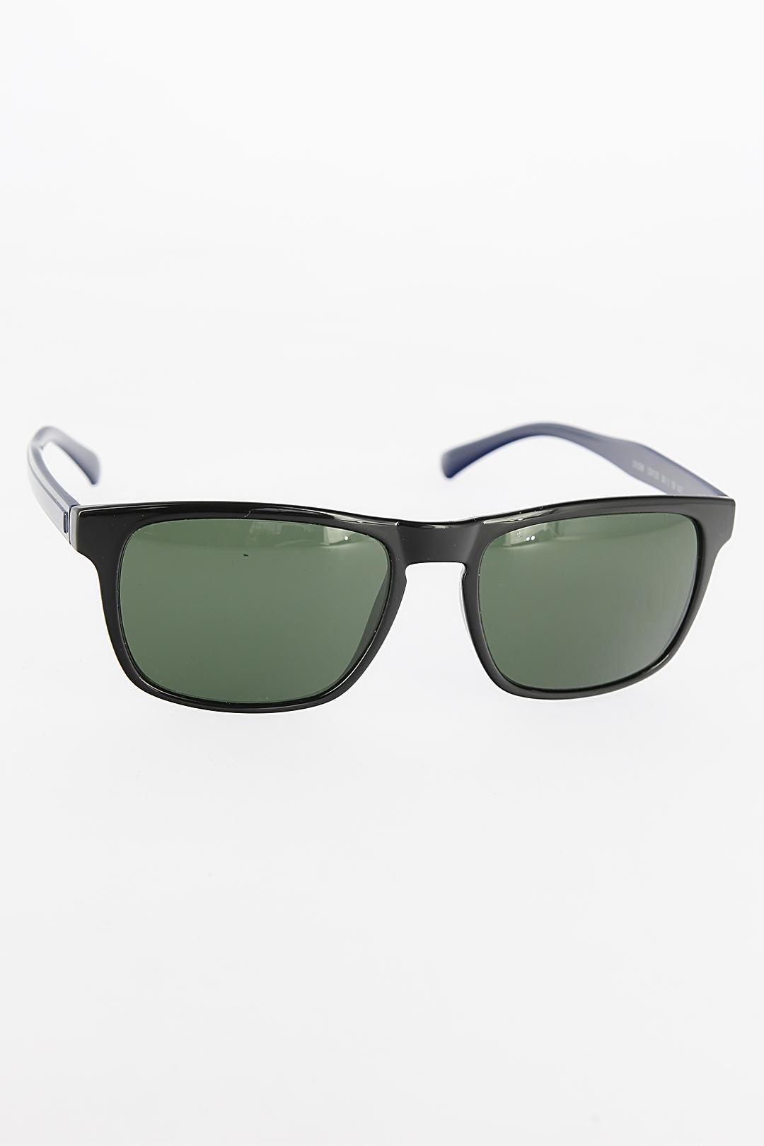 Siyah Kare Çerçeveli Yeşil Camlı Erkek Güneş Gözlüğü