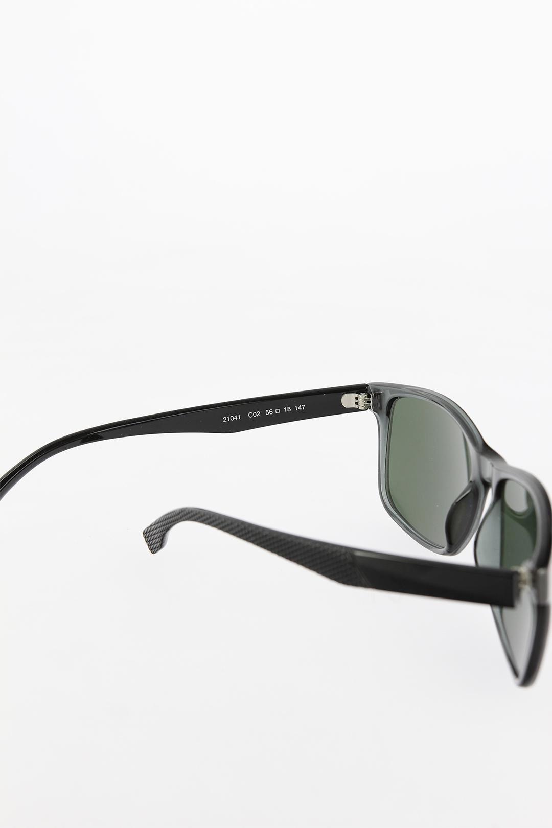 Gri Renk Çerçeveli Siyah Renk Saplı Erkek Güneş Gözlüğü