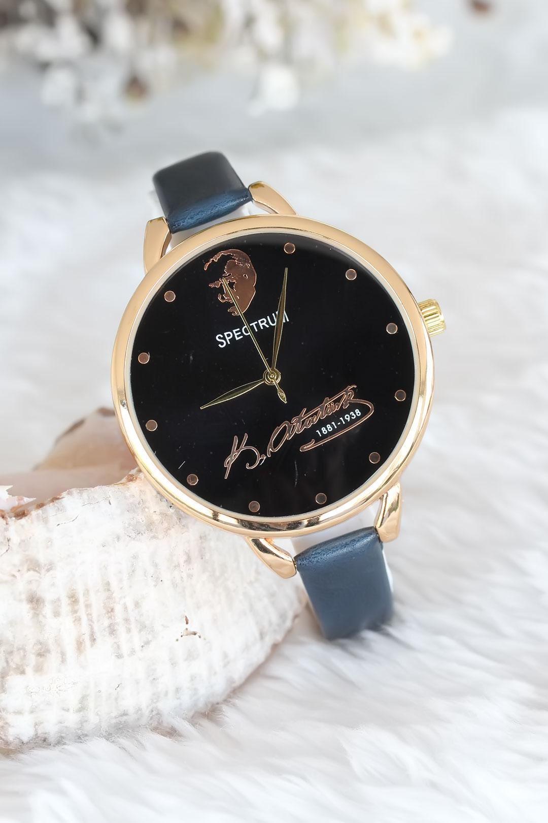 Deri Kordonlu Bayan Saat