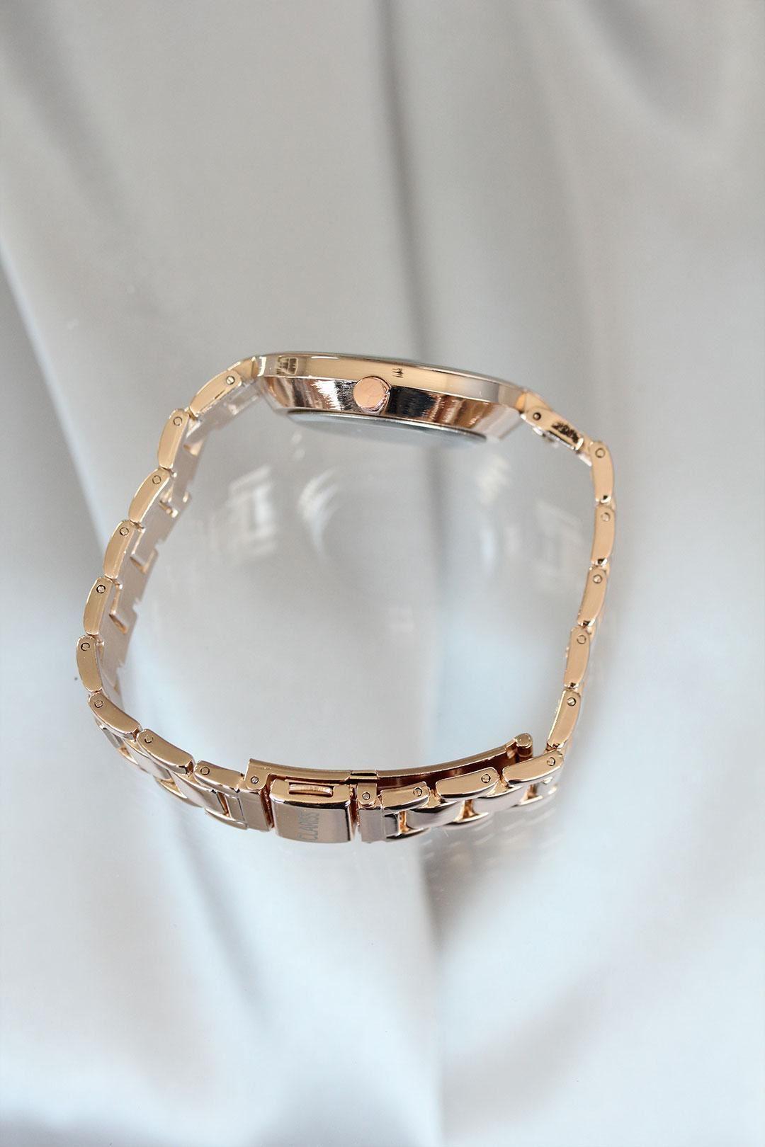Clariss Marka Rose Renk Metal Kadın Saat
