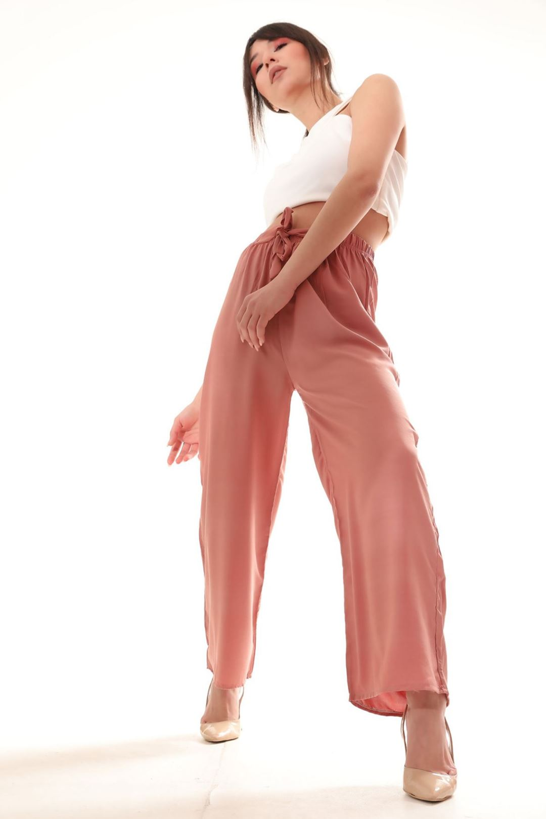 Salaş Pantolon Soğan Kabuğu