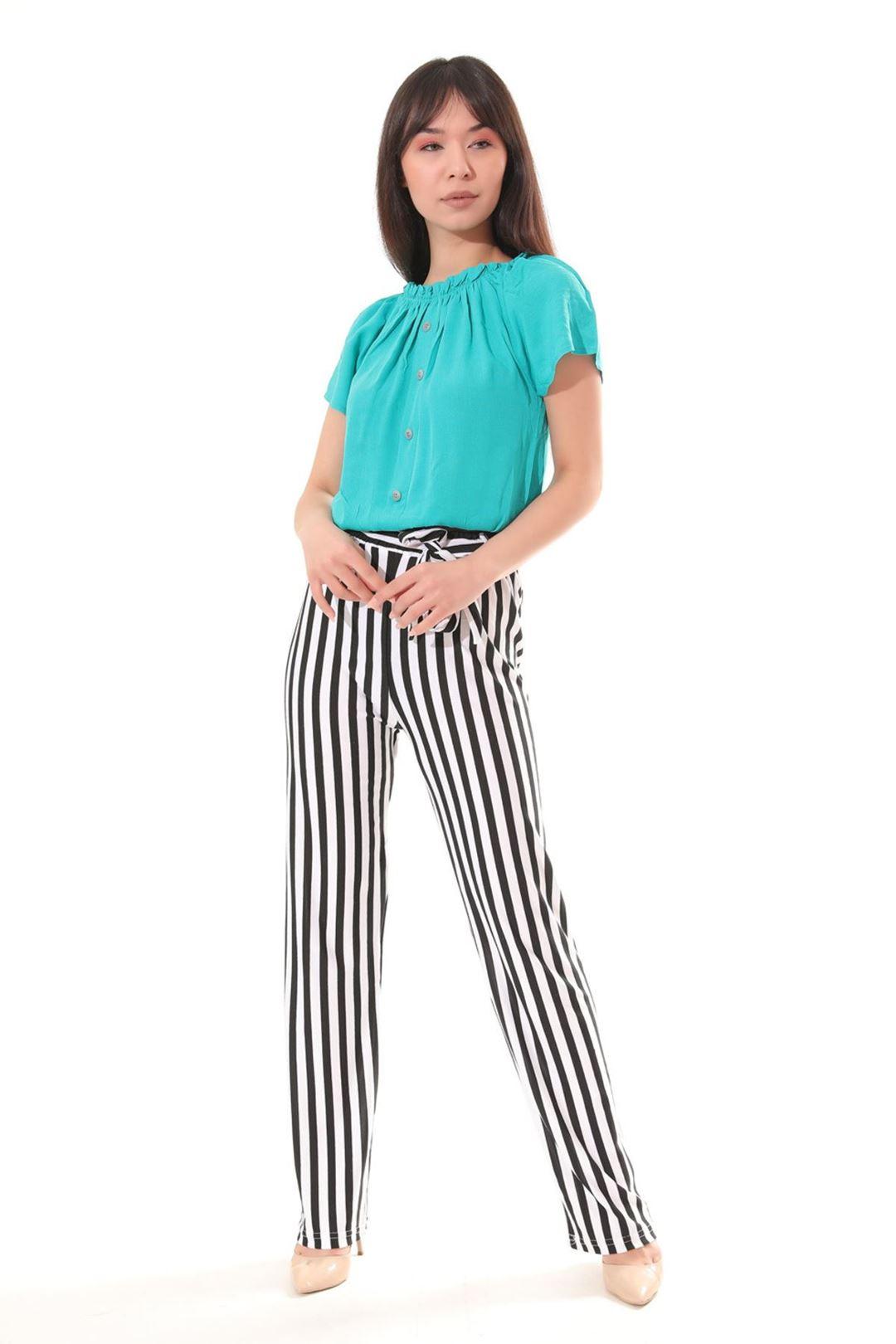 Salaş Pantolonlu İkili Takım Yeşil