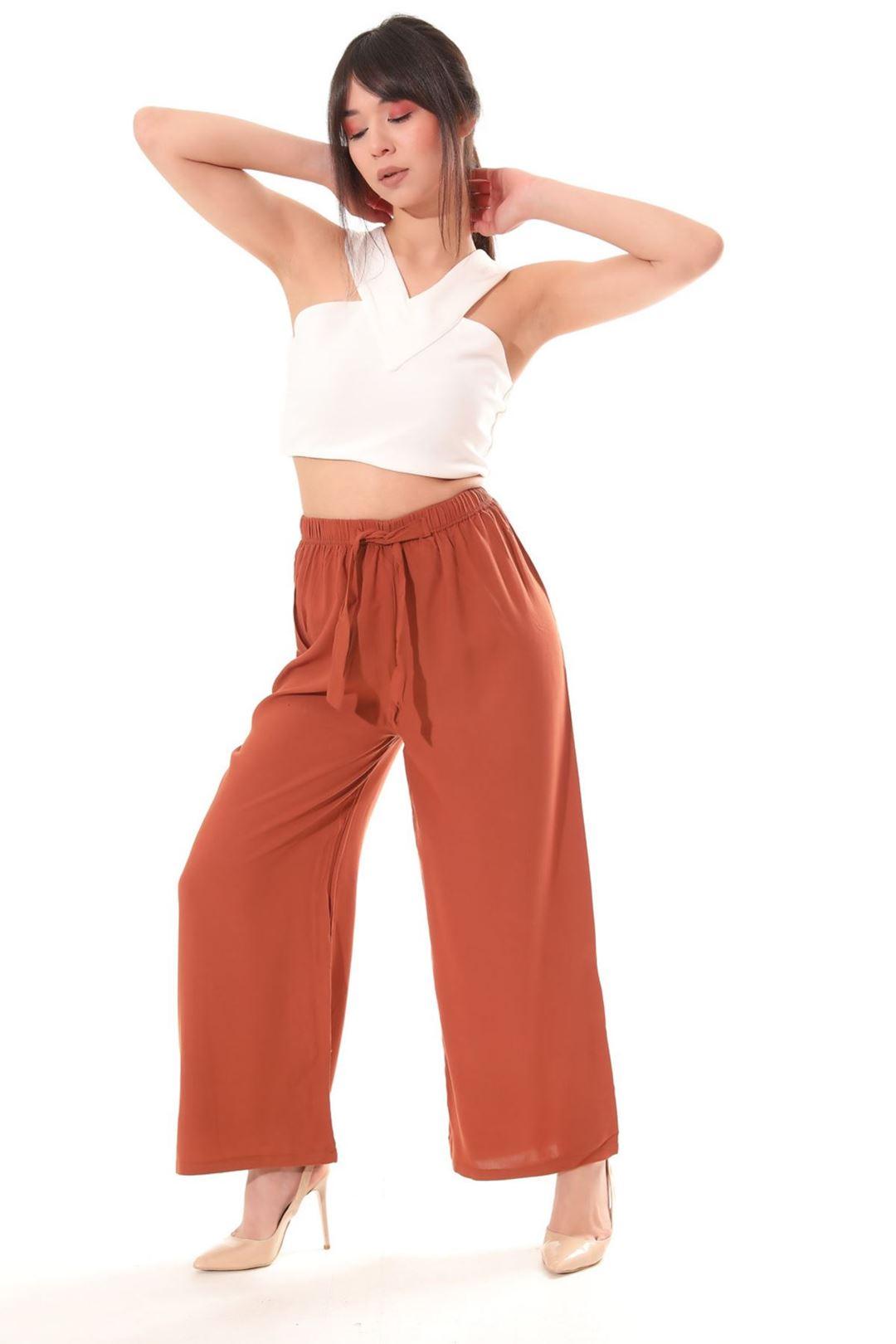 Salaş Pantolon Tarçın
