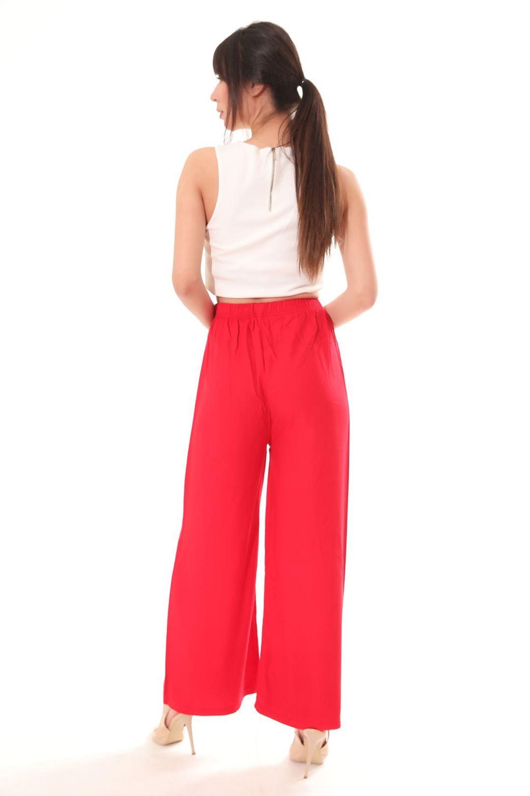 Salaş Pantolon Kırmızı